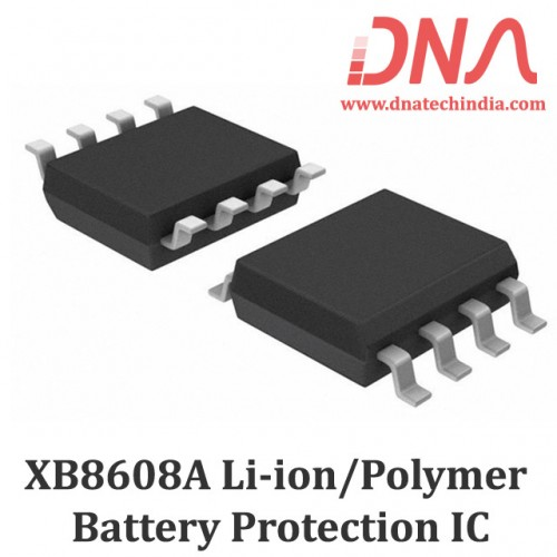 XB8608A One Cell Li-ion/Polymer Battery Protection IC
