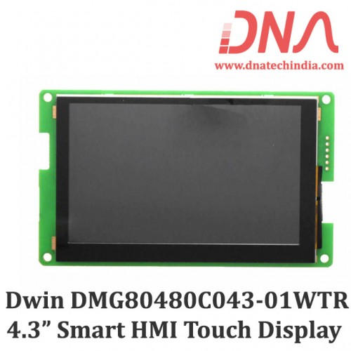 "DWIN DMG80480C043 4.3"" Smart Resistive Touchscreen Display"