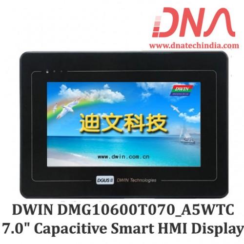 "DWIN DMG10600T070_A5WTC 7.0"" Smart Capacitive Touchscreen Display with Bezel"