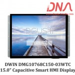 "DWIN DMG10768C150 15.0"" Smart Capacitive Touchscreen Display"