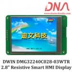 "DWIN DMG32240C028 2.8"" Smart Resistive Touchscreen Display"