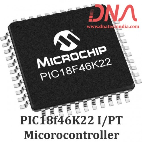 PIC18F46K22-I/PT Microcontroller (TQFP Package)