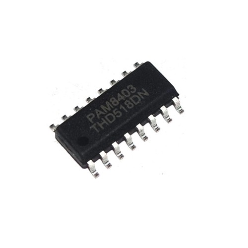 PAM8403 Audio Amplifier IC