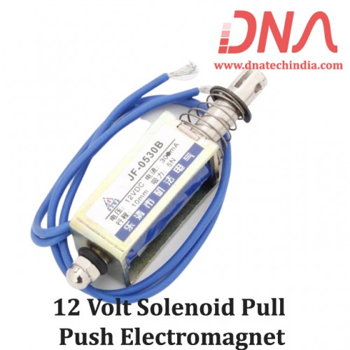 12 Volt Solenoid Pull Push Electromagnet