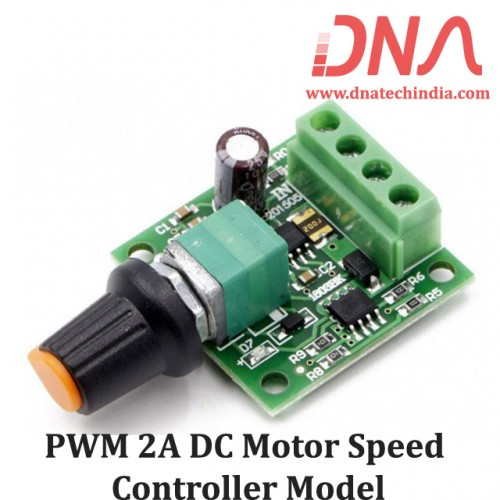 PWM 2A DC Motor Speed Controller Model