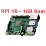 Raspberry Pi 4 Model B with 4 GB RAM