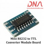 Mini RS232 to TTL Converter Module Board
