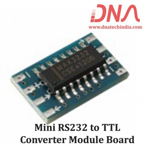 Mini RS232 to TTL Converter Module Board