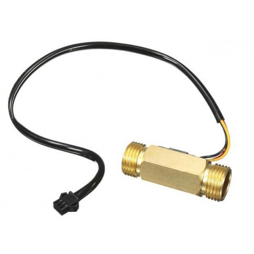 "SEN-HZ21WI 1/2""  Brass Water Flow Sensor"