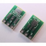 SMD SOT223 SOT89 to DIP Adapter PCB Board