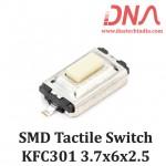 SMD Tactile Switch 3.7x6x2.5 (KFC301 white)