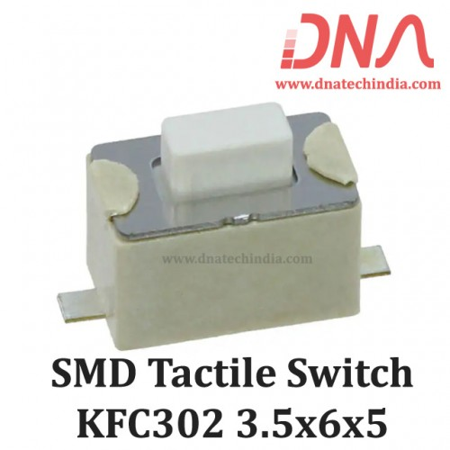 SMD Tactile Switch 3.5x6x5 (KFC 302A)