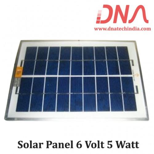 Solar Panel 6 Volt 5 Watt