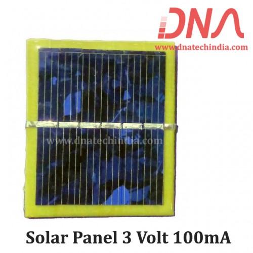 Solar Panel 3 Volt 100mA