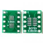 SOT23/10 PIN SMD to DIP