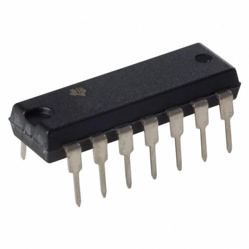 TLC27L4 Quad Op-Amp