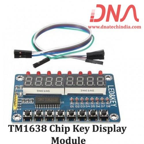 TM1638 Chip Key Display Module
