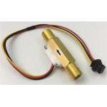 """SEN-HZ41WC 1/4""""  Brass Water Flow Sensor"""