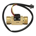 "SEN-HZ43WB 3/4""  Brass Water Flow Sensor"