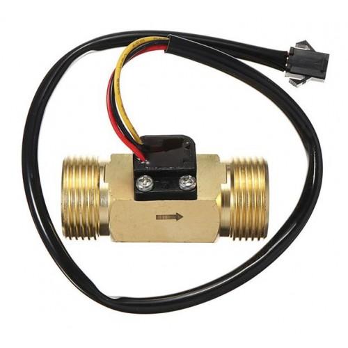 """SEN-HZ43WB 3/4""""  Brass Water Flow Sensor"""