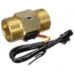 "SEN-HZG1WA 1""  Brass Water Flow Sensor"