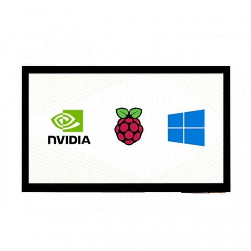 """10.1"""" Capacitive Touch Screen LCD (E), 1024×600, HDMI"""