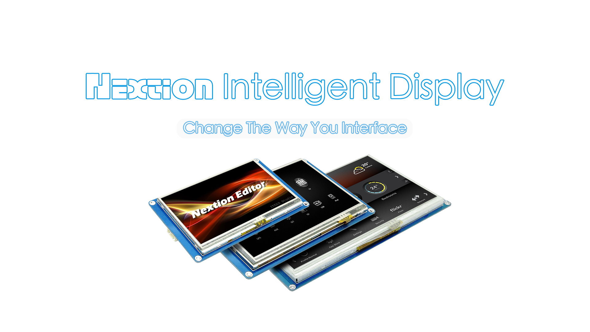 Distributor for Nextion HMI Touch Display in India