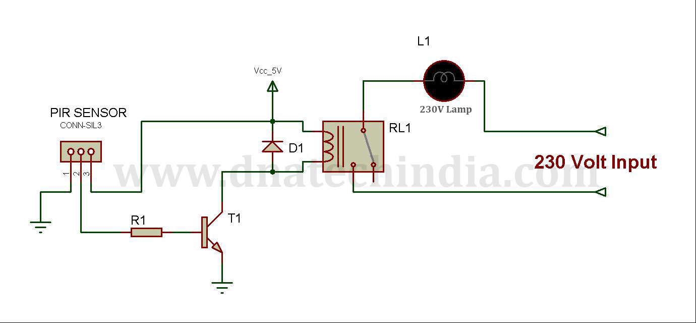 A Simple Low Cost Non Micro Controller Based Diy Project For Power Circuit Diagram Projects Below Is The Pir Saver